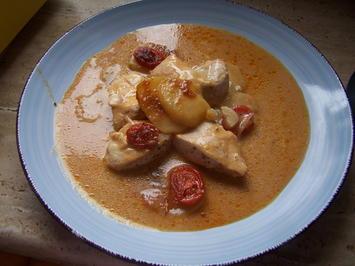 Hähnchen Brust mit Kartoffel als  Auflauf - Rezept - Bild Nr. 2