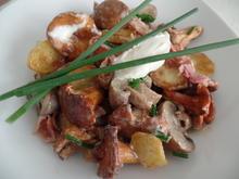 Pilz-Kartoffelpfanne - Rezept - Bild Nr. 11069
