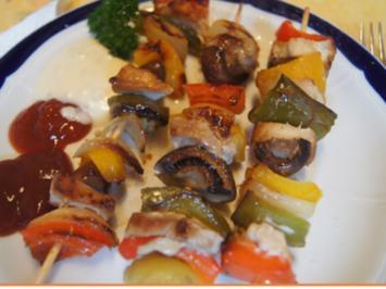 Fleisch-Gemüse-Spieße - Rezept - Bild Nr. 2
