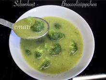 Schonkost - Broccoli Süppchen - Rezept - Bild Nr. 2