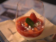 Mascarpone-Quark-Joghurtcreme mit Erdbeermark - Rezept - Bild Nr. 2
