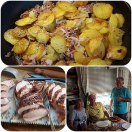 Bratkartoffeln mit Leberkäse - Rezept - Bild Nr. 4