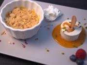Genussvolle Hyperglycämie: Aprikosen-Crumble und Eis am Stiel - Rezept - Bild Nr. 2