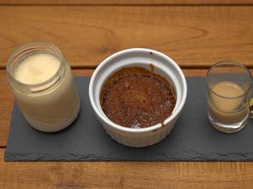 Cape Malva Pudding mit Marula-Eiscreme und Marula-Likör-Shot - Rezept - Bild Nr. 2