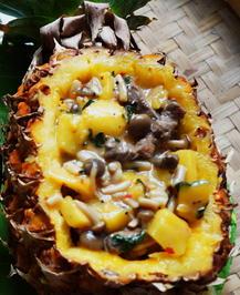 Rindergeschnetzeltes mit Ananas und Pilzen - Rezept - Bild Nr. 2