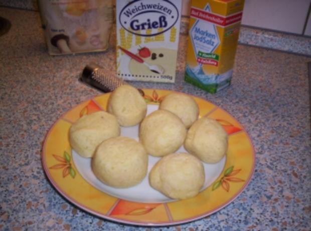 Böhmische Kartoffelklöße - Rezept