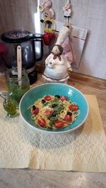 Spaghetti mit schnellen Pesto - Rezept - Bild Nr. 2