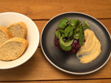 Rote-Bete-Tatar und Cashew-Mayonnaise - Rezept - Bild Nr. 2
