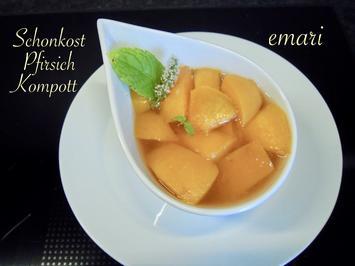 Schonkost - Pfirsich Kompott - Rezept - Bild Nr. 2