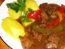 Hähnchenleber-Paprika-Gulasch - Rezept - Bild Nr. 2