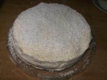 Schneeflocken-Torte - Rezept