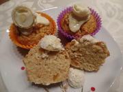 Kokos -Aprikosen -Muffins mit Raffaelo und weißer Schokolade on Topp - Rezept - Bild Nr. 11163