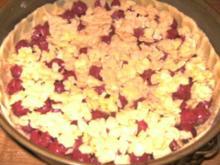 Kirsch-Mandel-Kuchen - Rezept