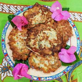 Gemüsepuffer Cakranegara – Martabak Cakra I - Rezept - Bild Nr. 2
