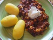 Chili con Carne mit Pellkartoffeln III - Rezept - Bild Nr. 2