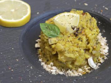 Steinpilz-Safran-Risotto mit eingelegten Zitronen - Rezept - Bild Nr. 2