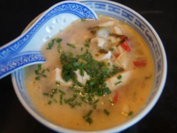 Hühnersuppe mit Kokosmilch - Rezept - Bild Nr. 2
