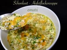 Schonkost - leckere Haferflocken Suppe - Rezept - Bild Nr. 2