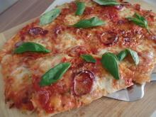 Pizza Margherita - Rezept - Bild Nr. 11288