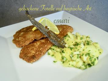Oktoberfest Forelle mit Kartoffelsalat - beides auf bayrische Art - Rezept - Bild Nr. 2