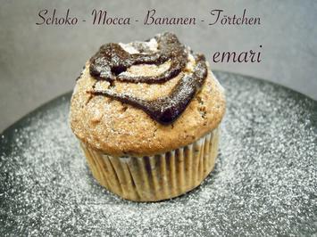 Schoko - Mocca - Bananen - Törtchen - Rezept - Bild Nr. 18