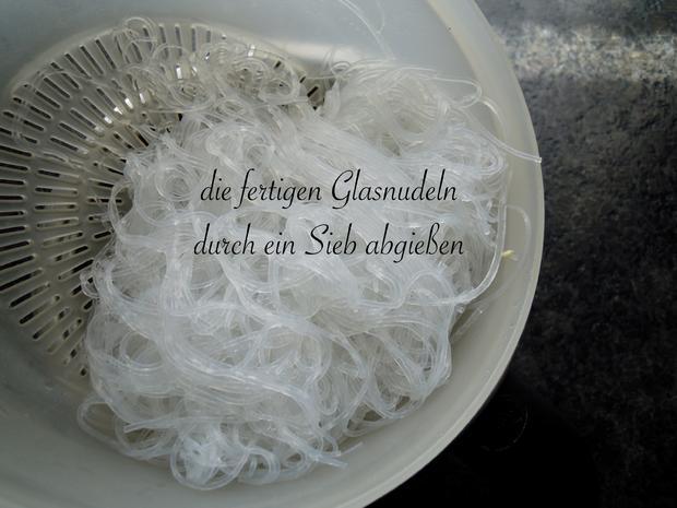 Schonkost - cremige leckere Glasnudeln mit Champions und Erbsen - Rezept - Bild Nr. 11337