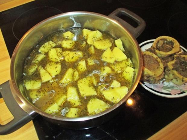 Grüne Kartoffelsuppe - Rezept - Bild Nr. 11331