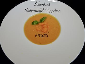 Schonkost - Süßkartoffel Süppchen - Rezept - Bild Nr. 2