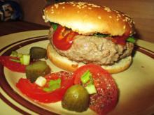 Mein einfacher Hamburger ohne Schnickschnack - Rezept - Bild Nr. 2