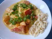 Kürbis - Hähnchen - Curry - Rezept - Bild Nr. 2