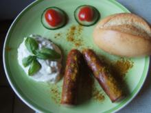 Currywurst mit Zaziki - Rezept - Bild Nr. 2