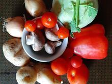 Ofengemüse mit Feta und leckeren Dips (vegane Variante möglich) - Rezept - Bild Nr. 11336