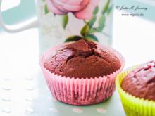 Schoko-Muffins mit Marmelade - Rezept - Bild Nr. 3