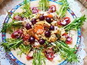 Bunter Nudelsalat mit Rührei – Insalata Fusilli - Rezept - Bild Nr. 2