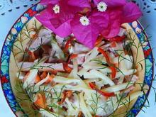 Baseler Wurstsalat mit Emmentaler - Rezept - Bild Nr. 2