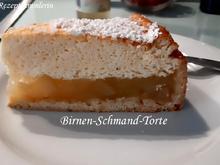 Mürbeteig:   BIRNEN ~ SCHMAND ~ TORTE - Rezept - Bild Nr. 2