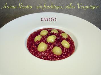 süßer Aronia Risotto ... ein fruchtiges Vergnügen - Rezept - Bild Nr. 6