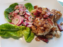 Hasselback-Kartoffeln mit Radieser'l-Salat - Rezept - Bild Nr. 11434
