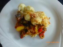 Blumenkohlauflauf mit Kartoffeln und Paprikagemüse - kochbar challenge 10 ( Oktober 2020) - Rezept - Bild Nr. 2