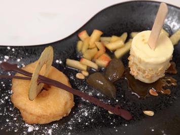 Apfelküchle mit selbstgemachtem Eis und süßen Spielereien - Rezept - Bild Nr. 2