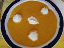 Möhrencremesuppe mit Reiskugeleinlage - Rezept - Bild Nr. 2