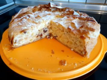 Apfelstrudelkuchen mit Rumrosinen - Rezept - Bild Nr. 2