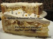 Apfelkuchen mit Schlagsahne - Rezept - Bild Nr. 2