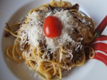 Spaghetti mit Steinpilz-Carbonara - Rezept - Bild Nr. 2