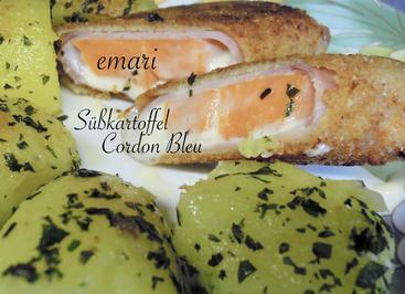 Süßkartoffel Cordon Bleu - Rezept - Bild Nr. 13