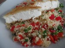 Feta auf Couscous-Salat - Rezept - Bild Nr. 11611
