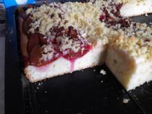 Hefekuchen mit Pflaumen und Äpfeln - Rezept - Bild Nr. 2