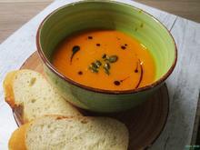 Kürbis - Orangen - Suppe - Rezept - Bild Nr. 11642