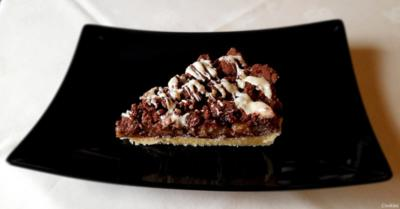 Birnen - Schokoladen - Tarte - Rezept - Bild Nr. 2