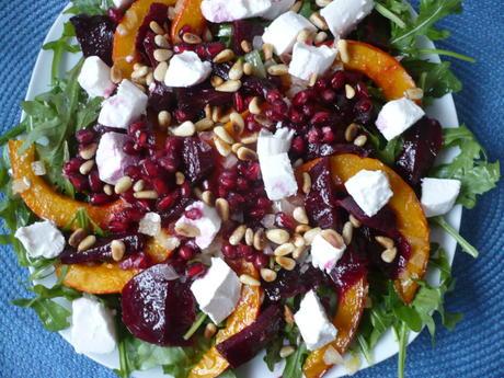 Kürbis - Rote - Bete - Salat - Rezept - Bild Nr. 2